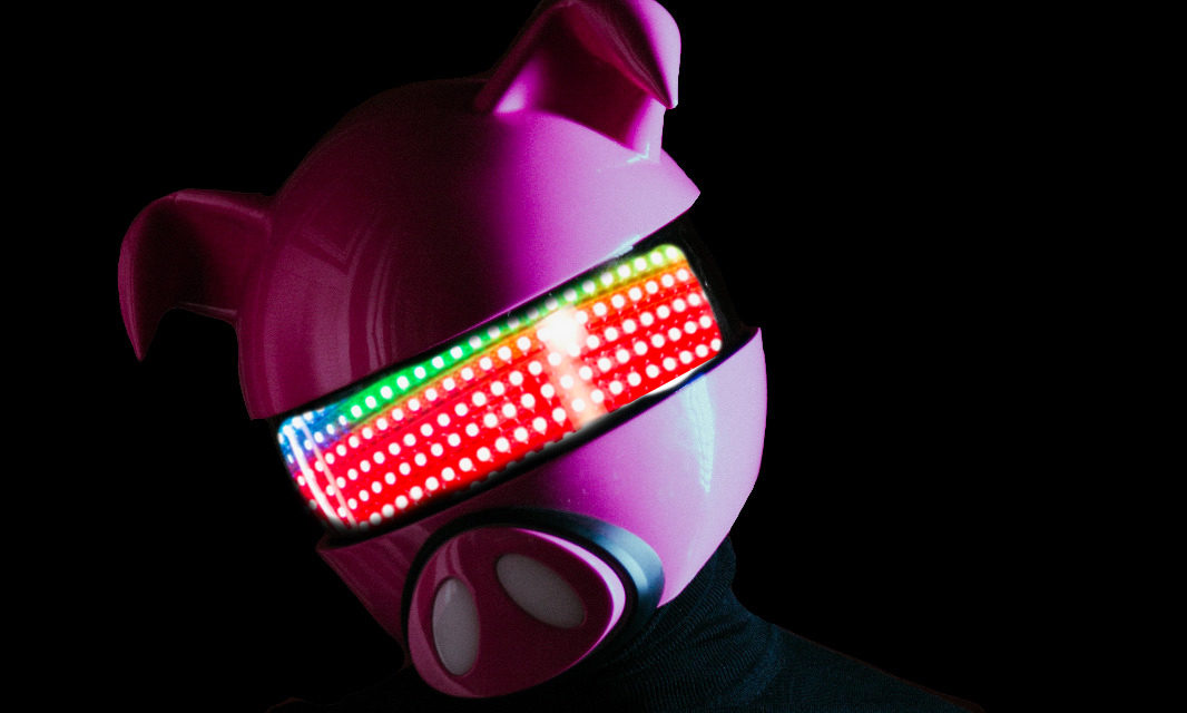 """<span class=""""entry-title-primary"""">Digital Farm Animals: 'I don't remember a time before the helmet'</span> <span class=""""entry-subtitle"""">We caught up with the man behind the pig, Nick Gale to find out more about his alter ego and working with the likes of Louis Tomlinson, Dua Lipa, Little Mix and James Arthur</span>"""