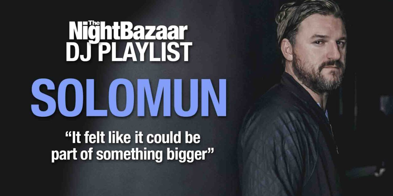"<span class=""entry-title-primary"">Solomun: ""It felt like it could be part of something bigger""</span> <span class=""entry-subtitle"">The after party king talks us through old and new music, featuring his new single Home and tracks by Joseph Capriati, Tunnelvisions, Fur Coat, Mark Broom and more</span>"
