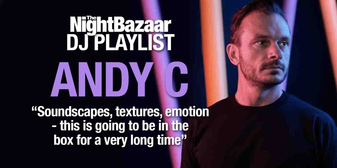 """<span class=""""entry-title-primary"""">Andy C: """"Soundscapes, textures, emotion – this is going to be in the box for a very long time""""</span> <span class=""""entry-subtitle"""">The Drum and Bass icon gives an exclusive look at his current Top 10 tracks featuring Culture Shock, Shy FX, Skantia, Alora, and many more.</span>"""