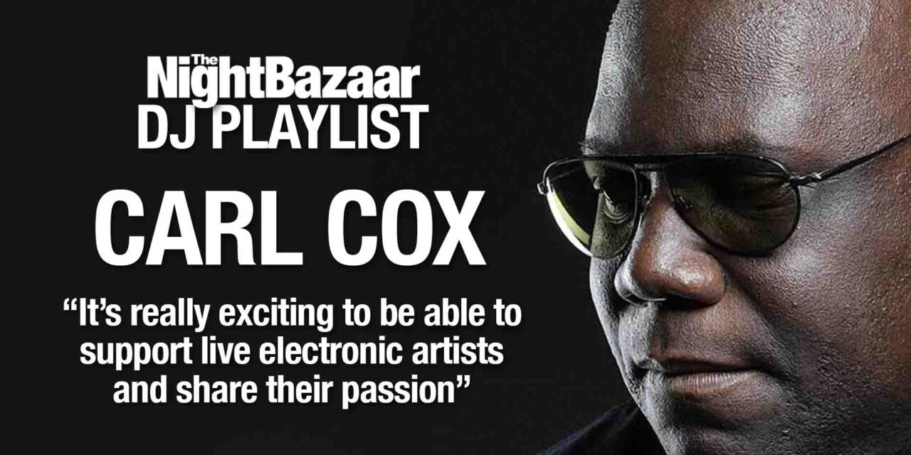 """<span class=""""entry-title-primary"""">Carl Cox: """"It's really exciting to be able to support live electronic music artists and share their passion""""</span> <span class=""""entry-subtitle"""">The king of clubs talks us through a playlist of tracks from live artists from his Awesome Soundwave label</span>"""