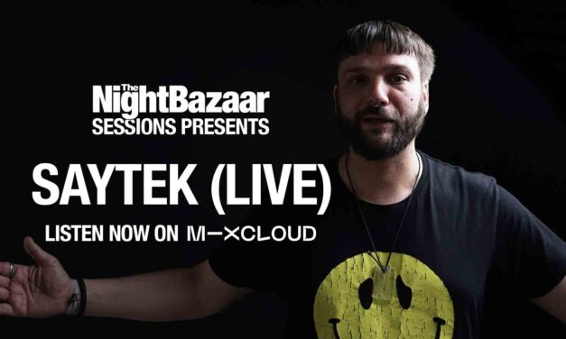 Saytek records an exclusive live jam session featuring new music made during lockdown