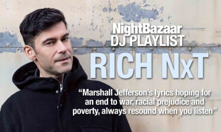 "<span class=""entry-title-primary"">Rich NxT: ""Marshall Jefferson's lyrics hoping for an end to war, prejudice and poverty, always resound when you listen""</span> <span class=""entry-subtitle"">We caught up with the FUSE resident this week and asked him to compile and talk us through a playlist of inspirational music</span>"