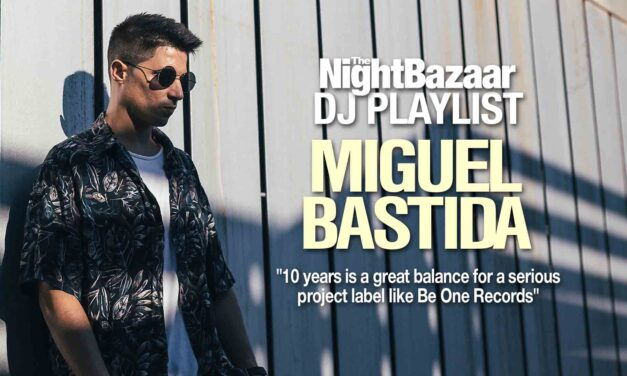 """Miguel Bastida: """"10 years is a great balance for a serious project label like Be One Records"""""""