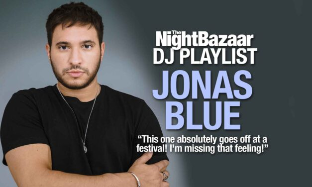 """Jonas Blue: """"This one absolutely goes off at a festival! I'm missing that feeling!"""""""