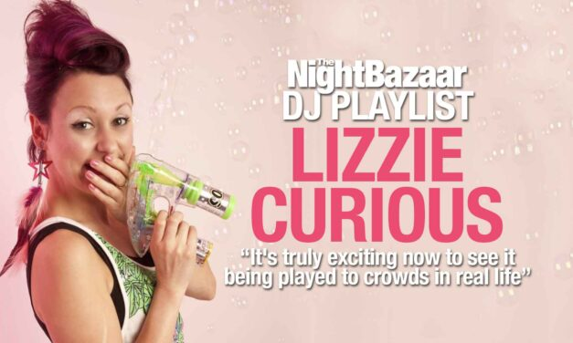 """Lizzie Curious: """"It's truly exciting now to see it being played to crowds in real life"""""""