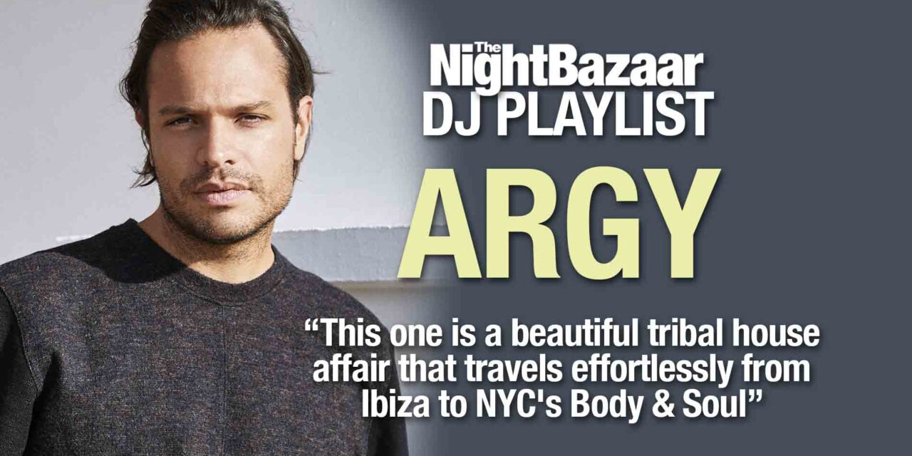 """<span class=""""entry-title-primary"""">Argy: """"This one is a beautiful tribal house affair that travels effortlessly from Ibiza to NYC's Body & Soul""""</span> <span class=""""entry-subtitle"""">A selection of Balearic inspired music compiled by the Greek electronic music maestro as he releases his new album, The Interior Journey</span>"""