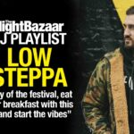 """Low Steppa: """"Day of the festival, eat your breakfast with this on and start the vibes"""""""